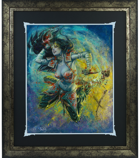 Ozone Productions Gallevarbe Eviscerator Art Print