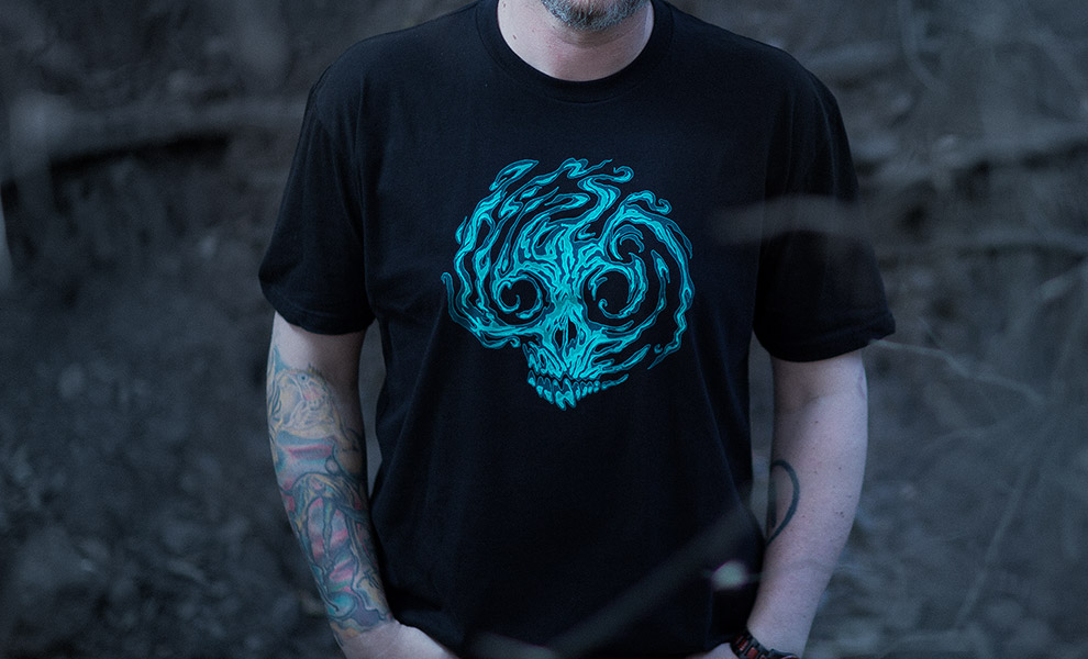 Gallery Feature Image of Spirit Faction 2017 T-Shirt Apparel - Click to open image gallery