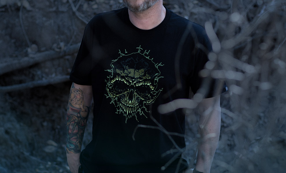 Gallery Feature Image of Bone Faction 2017 T-Shirt Apparel - Click to open image gallery