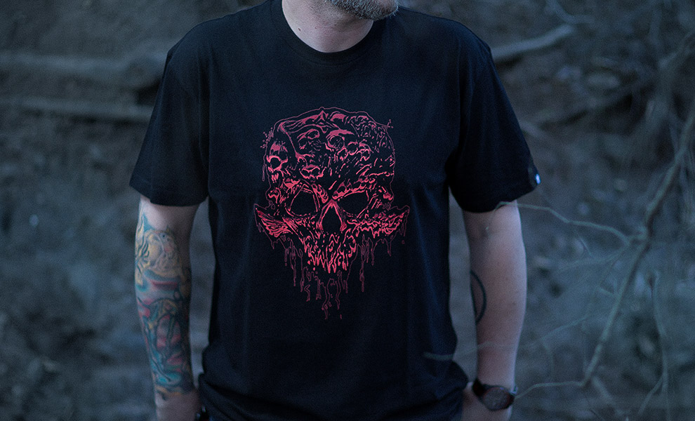 Gallery Feature Image of Flesh Faction 2017 T-Shirt Apparel - Click to open image gallery
