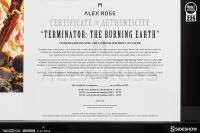 Gallery Image of Terminator The Burning Earth Art Print
