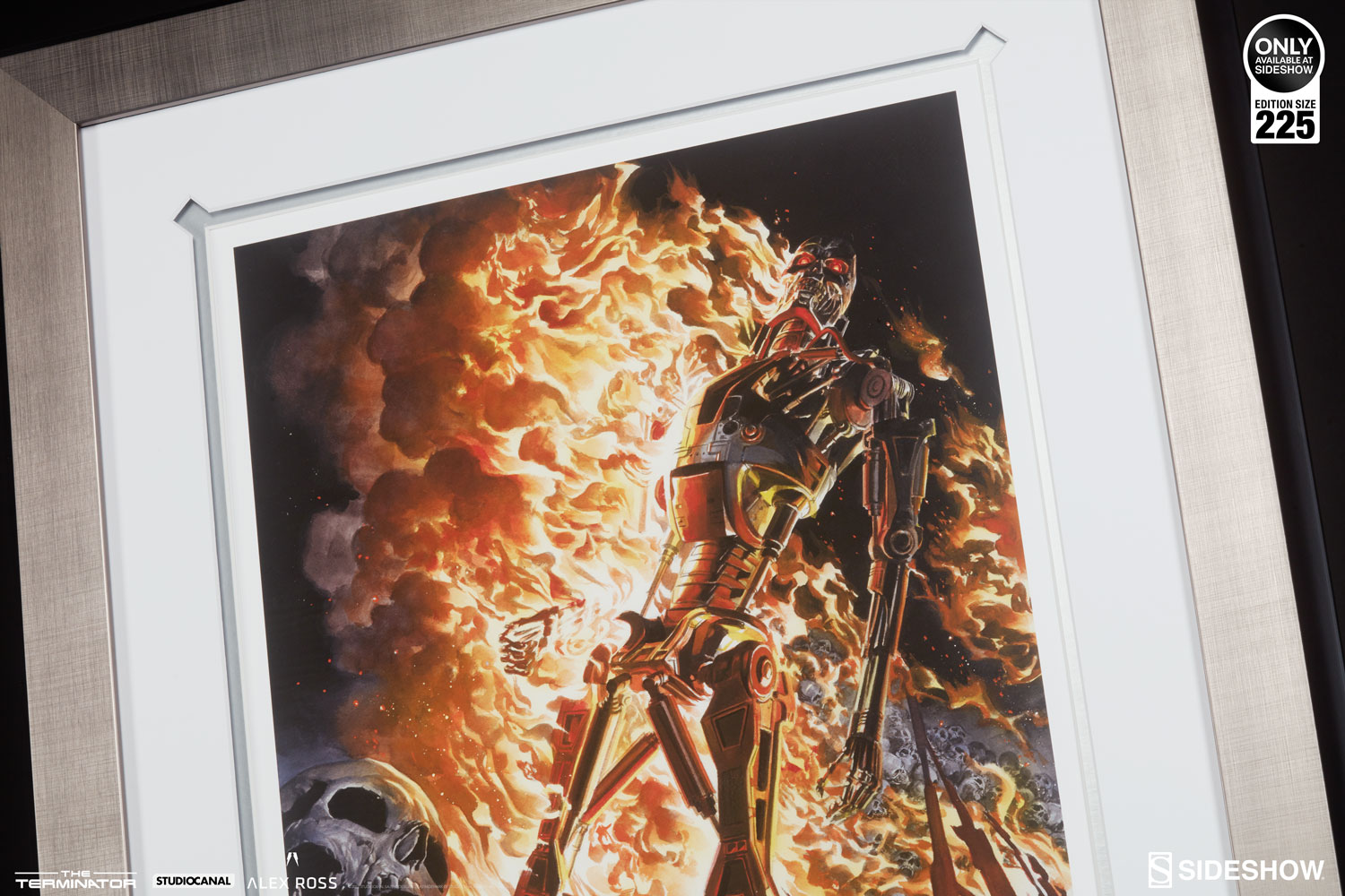 The Burning Earth Art Print by Alex Ross Sideshow Unframed Terminator