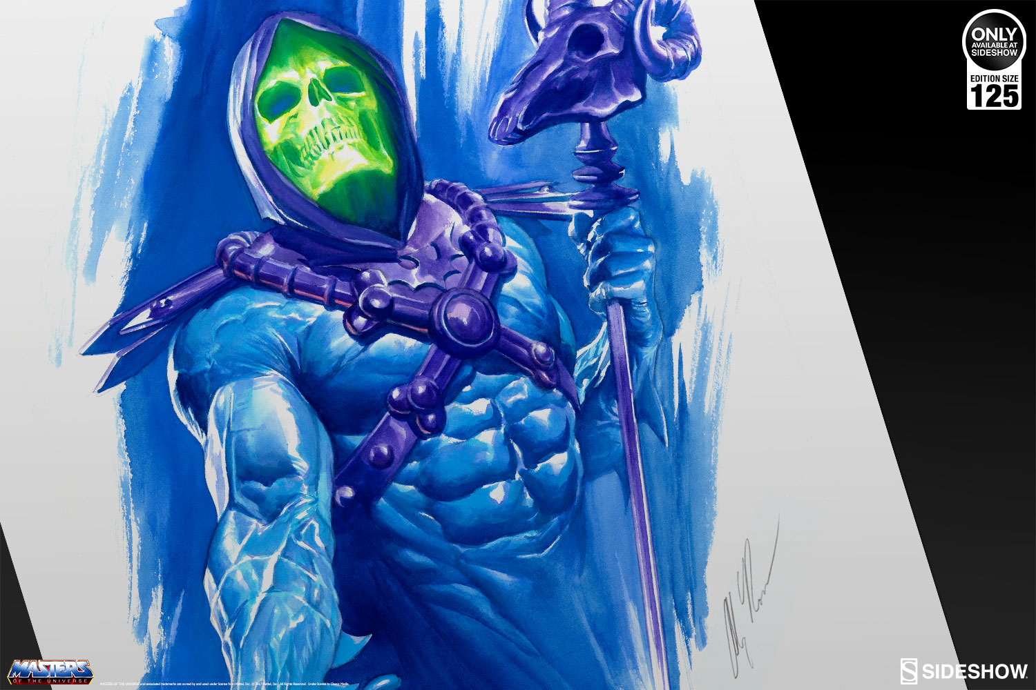 Masters of the Universe He-Man and Skeletor Art Print by ...