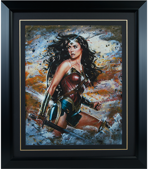Ozone Productions Wonder Woman Amazon Warrior Art Print