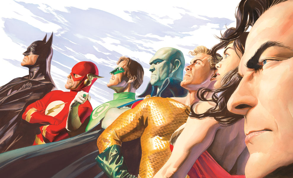 Liberty and Justice JLA Art Print feature image