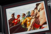 Gallery Image of Liberty and Justice JLA Art Print