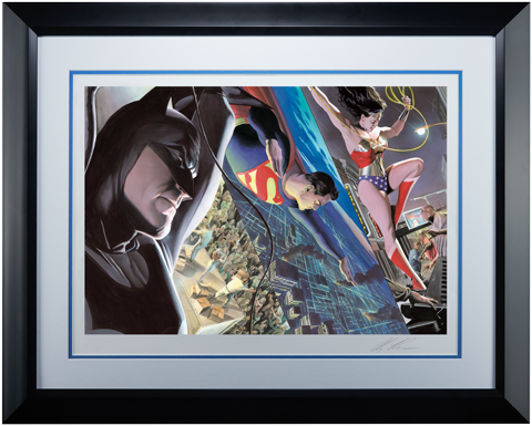 Alex Ross Art Liberty and Justice Trinity Art Print