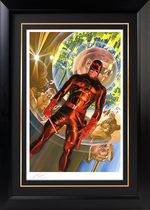 Alex Ross Art Daredevil The Man Without Fear Art Print