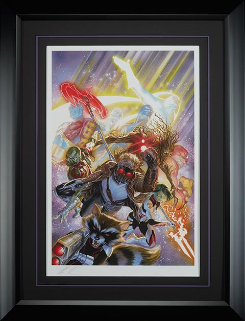 Alex Ross Art Guardians of the Galaxy Art Print