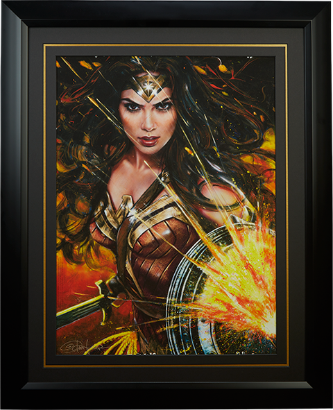 Ozone Productions Wonder Woman Art Print
