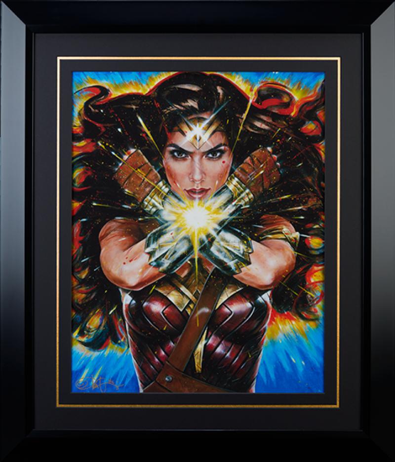 Wonder Woman Art Print - Hell Hath No Fury