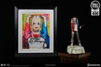 Gallery Image of Harley Quinn Daddys Lil Monster Art Print