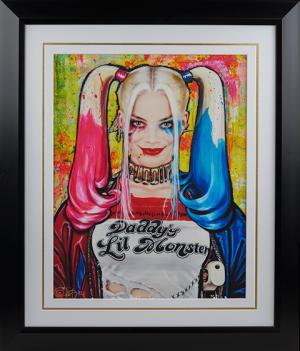 Harley Quinn Daddys Lil Monster Art Print