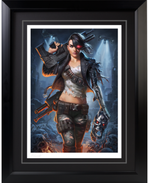Rebel Terminator Art Print
