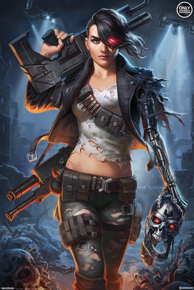 Terminator Rebel Terminator Art Print By Sideshow Collectibl Sideshow Collectibles