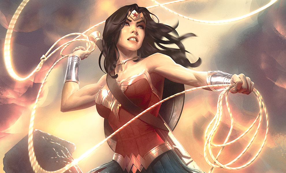 Gallery Feature Image of Wonder Woman Art Print - Click to open image gallery