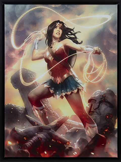Sideshow Collectibles Wonder Woman Art Print