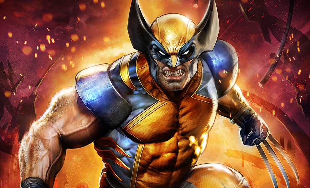 Gallery Feature Image of Wolverine Art Print - Click to open image gallery