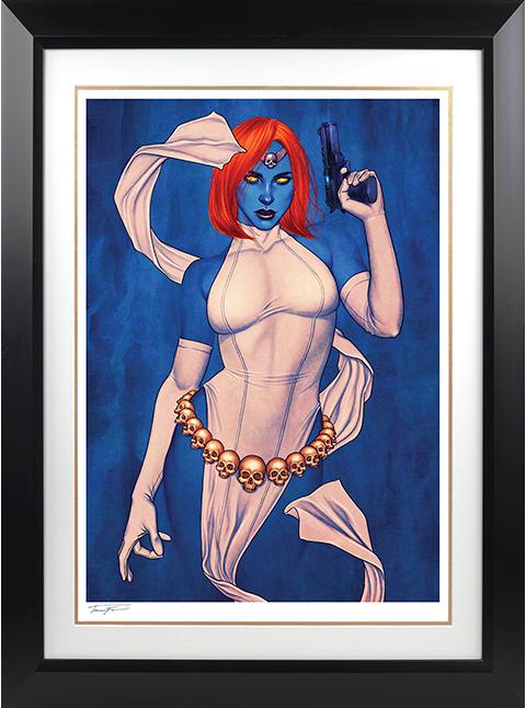 Sideshow Collectibles Mystique Art Print