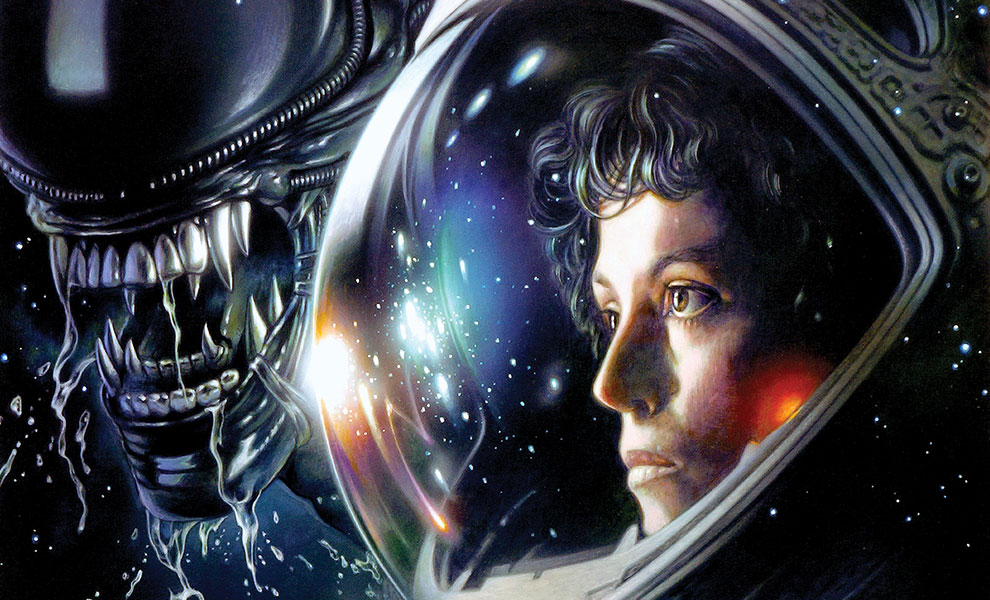 Gallery Feature Image of Alien 1979 Art Print - Click to open image gallery