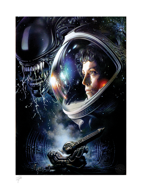 Sideshow Collectibles Alien 1979 Art Print