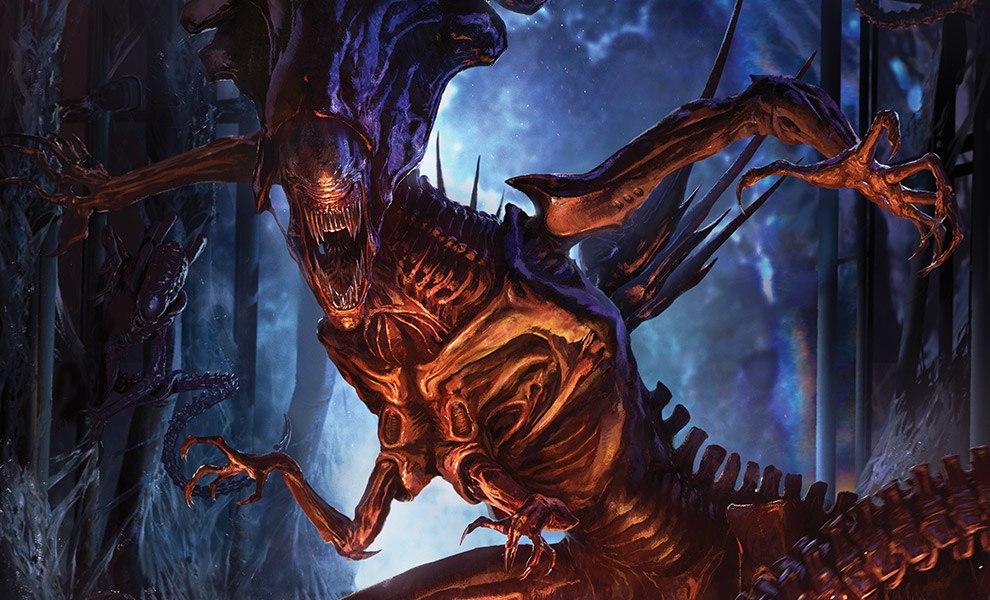 Alien Queen Art Print feature image