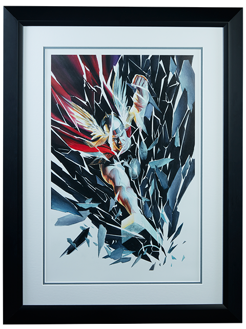 Alex Ross Art Thor Shattered Art Print