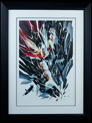 Thor Shattered Art Print