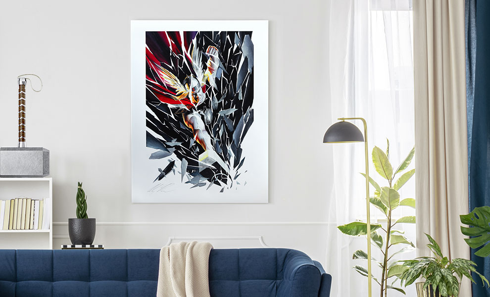 Gallery Feature Image of Thor Shattered Art Print - Click to open image gallery