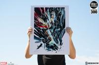 Gallery Image of Thor Shattered Art Print