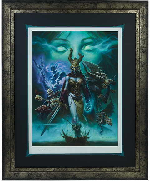 Sideshow Collectibles The Transcendence of Spirit Art Print