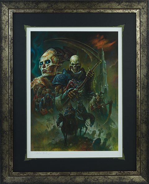 Sideshow Collectibles The Strength of Bone Art Print