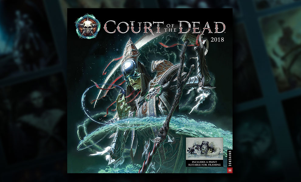 Gallery Feature Image of Court of the Dead 2018 Wall Calendar Miscellaneous Collectibles - Click to open image gallery