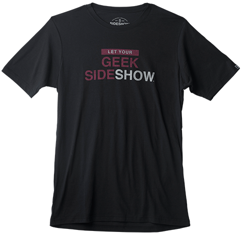 Sideshow Collectibles Let Your Geek Sideshow T-Shirt Apparel