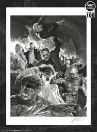 Gallery Image of Universal Monsters Art Print
