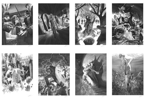 Alex Ross Art Universal Monsters Art Print