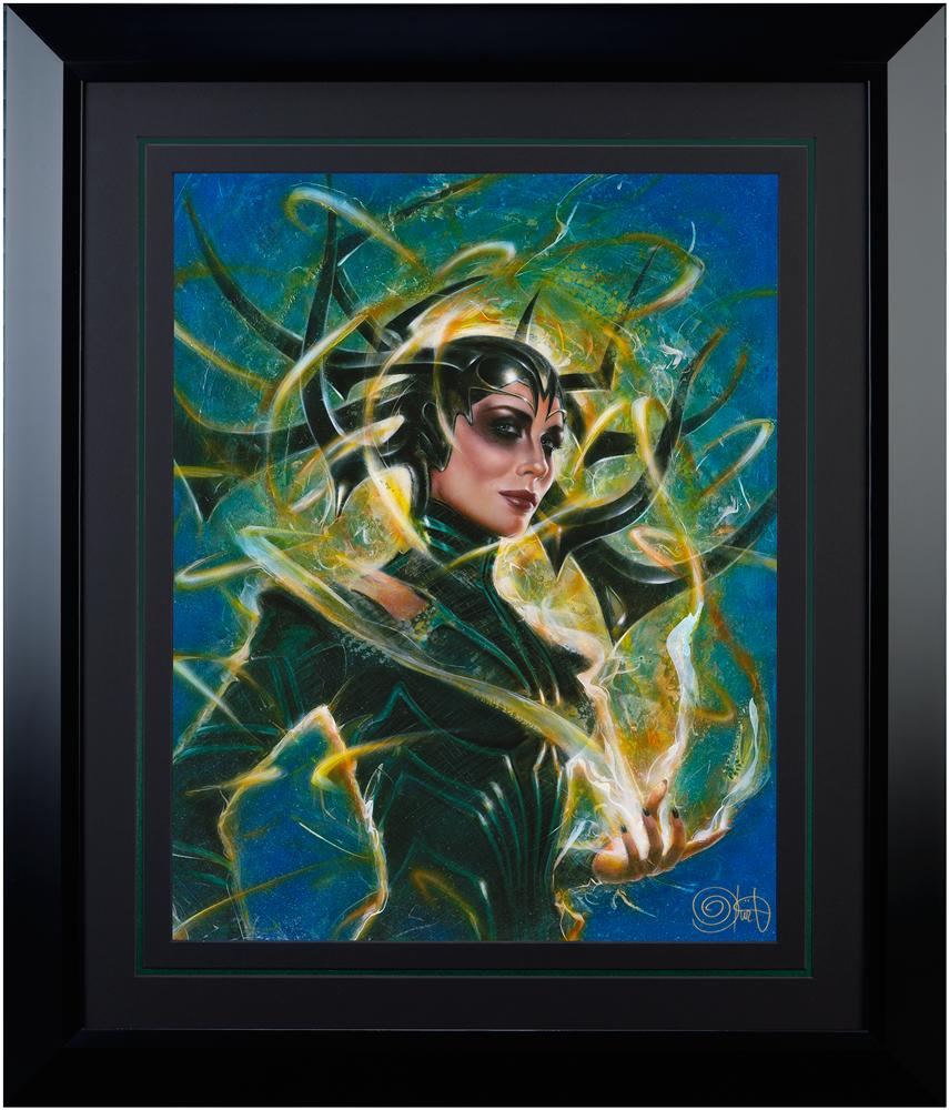 Ozone Productions Hela Goddess of Death Art Print