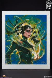 Gallery Image of Hela Goddess of Death Art Print