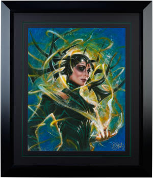 Hela Goddess of Death Art Print