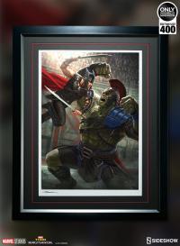 Gallery Image of Thor Ragnarok Art Print