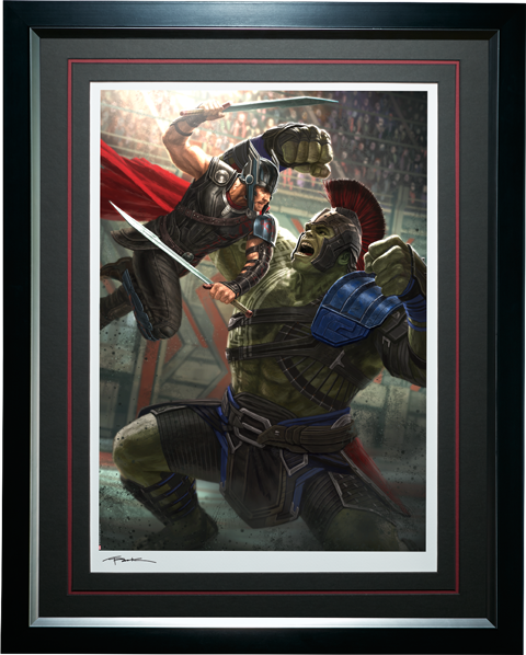 Sideshow Collectibles Thor Ragnarok Art Print
