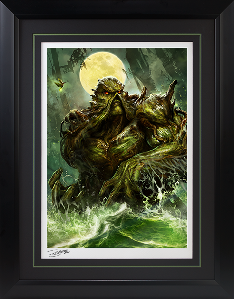 Sideshow Collectibles Swamp Thing Art Print