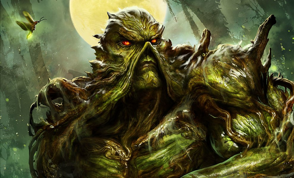 Gallery Feature Image of Swamp Thing Art Print - Click to open image gallery