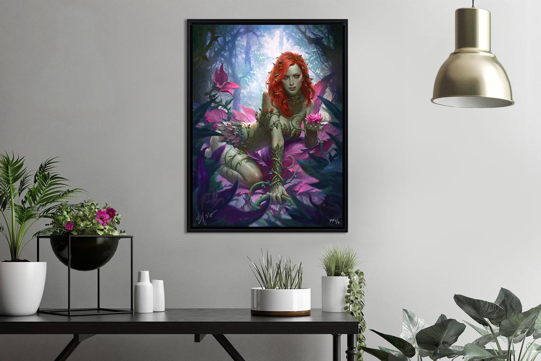 Poison Ivy Variant Art Print feature image