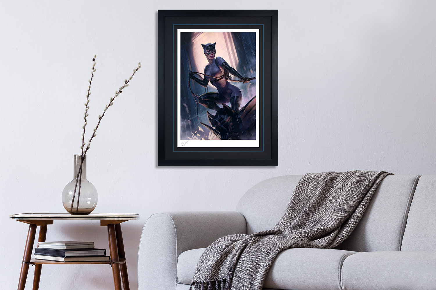 Catwoman Variant Art Print feature image