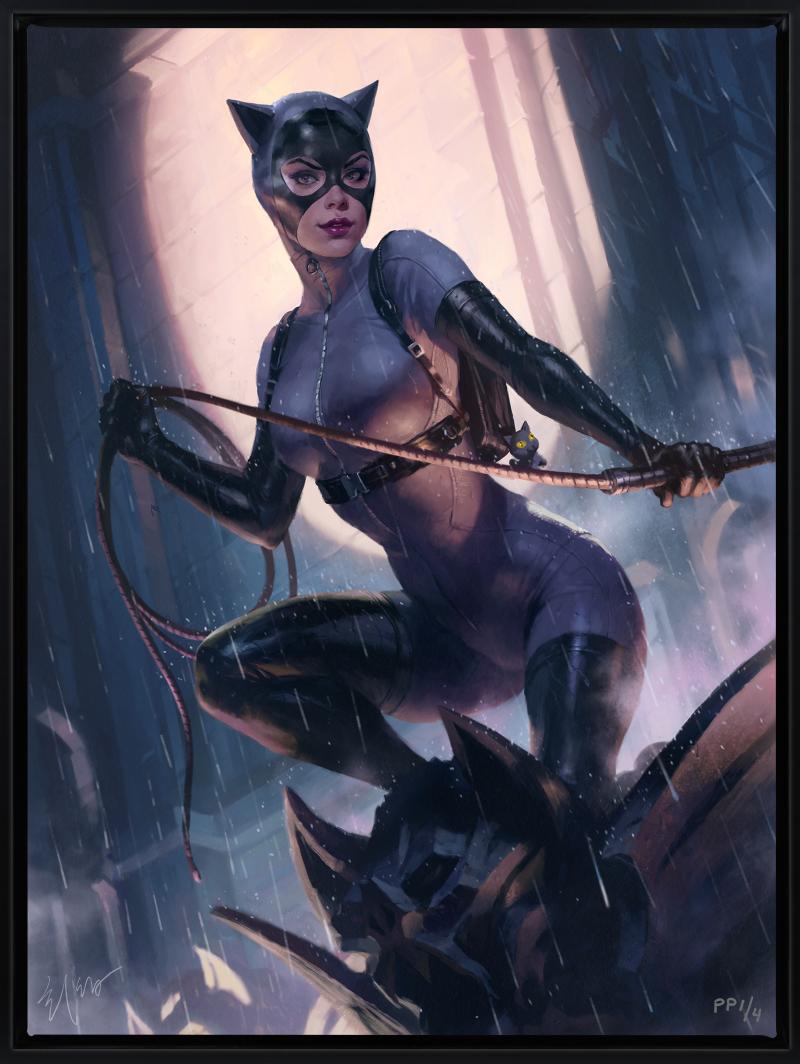 Catwoman Variant Art Print -
