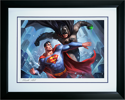 Sideshow Collectibles Batman vs Superman Art Print