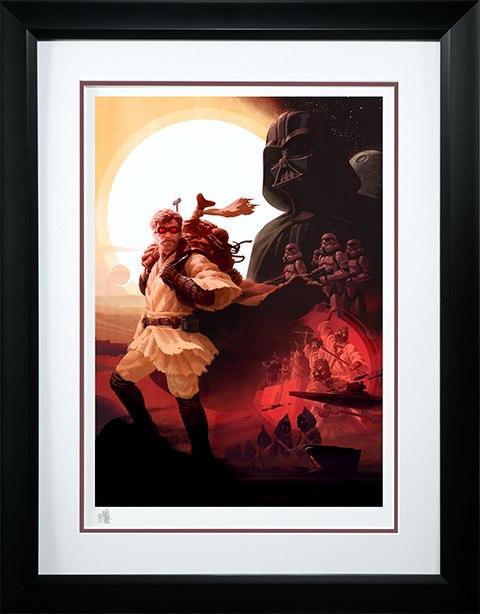Sideshow Collectibles Obi-Wan Kenobi Desert Nomad Art Print