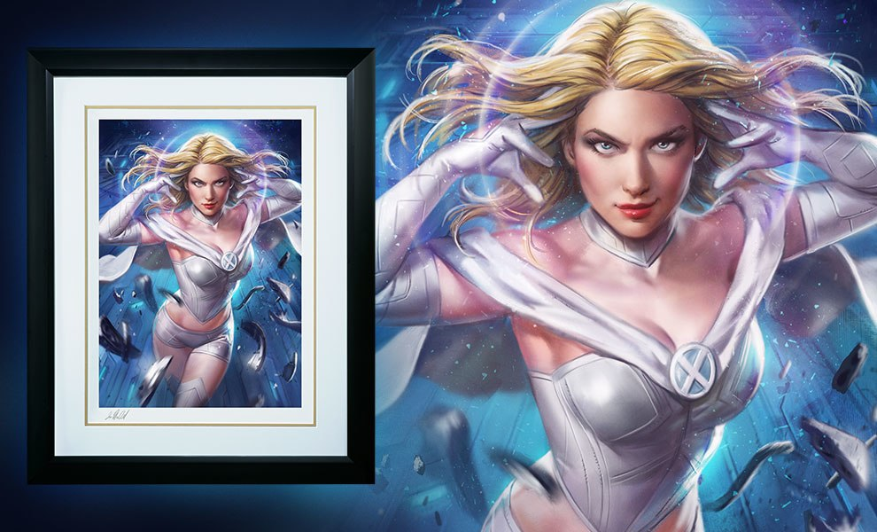 Gallery Feature Image of Emma Frost Art Print - Click to open image gallery