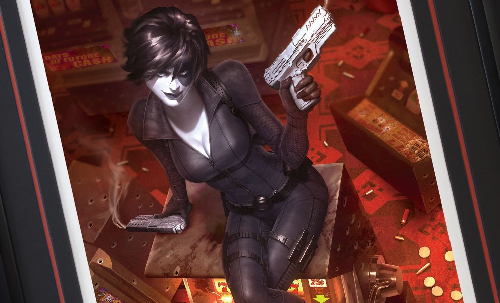 Gallery Feature Image of Domino Luck Be a Lady Art Print - Click to open image gallery